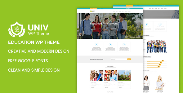 Univ \u2013 Education WordPress Theme \u2013 Design Your Website