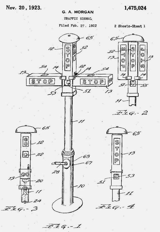Red Light, Green Light The Invention of the Traffic Signal  Design