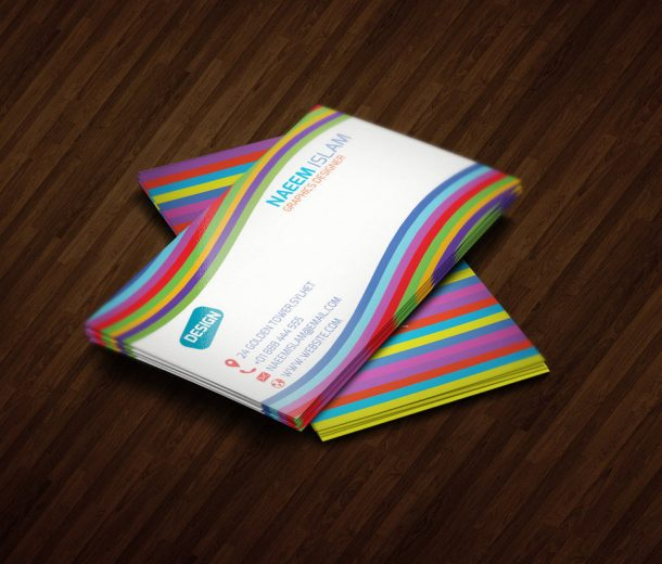 15 Best Violet Business Card Designs - DesignOrbital