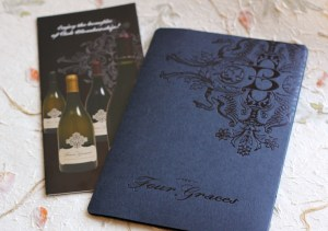 image of The Four Graces folder and brochure