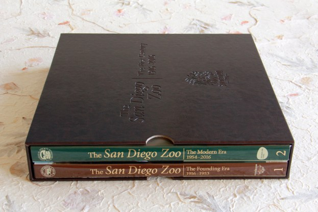 image of The San Diego Zoo The First Century Centennial Special Edition book set