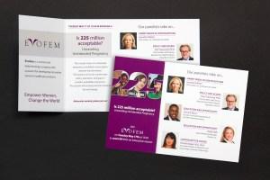 WCG/Evofem speaker panel for Women Deliver conference, Copenhagen 2016