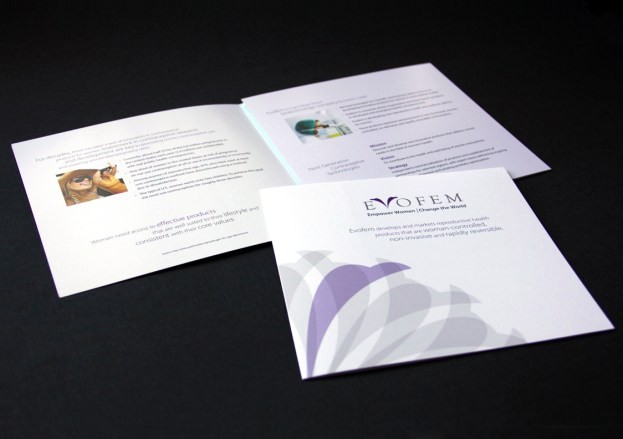 image of Evofem brochure