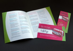 image of Softcup brochure