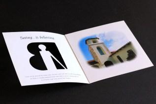 image of Braille Institute brochure