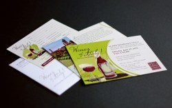 image of Wines of Italy! invite package for La Jolla Symphony and Chorus