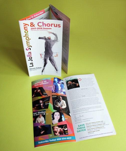La Jolla Symphony & Chorus Season brochure 2017-18