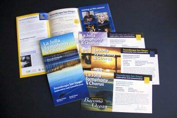 La Jolla Symphony and Chorus season brochure