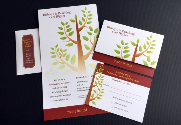 Bishops Reaching Ever Higher Campaign invitation