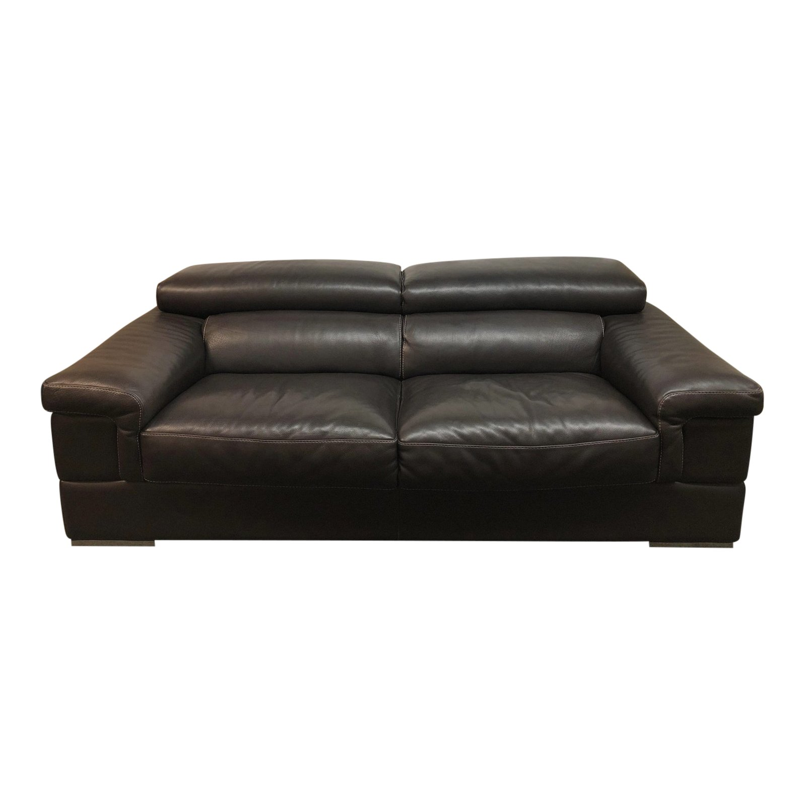 Divani Leather Sofa For Sale Incanto Group Divani Italian Leather Sofa Original Price 8 000
