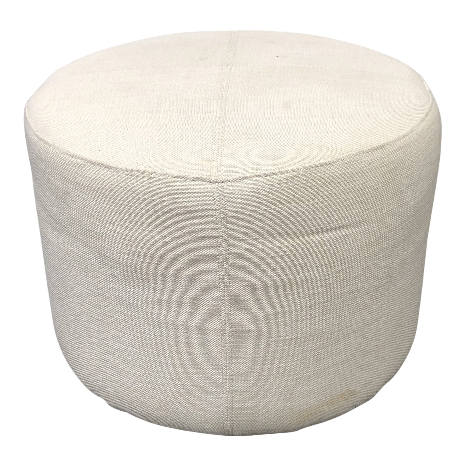 Divani Incanto Group Restoration Hardware Cooper Round Ottoman Original Price 396