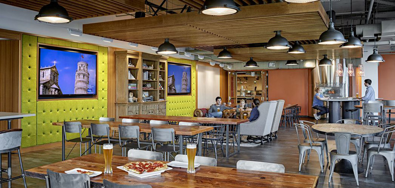 Tables Designed By Architects Tripadvisor Headquarters In Needham, Massachusetts | Design