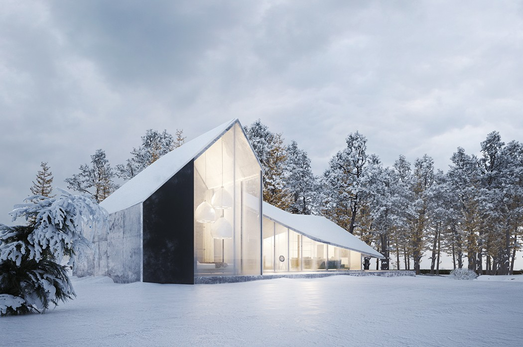 Laptop Couchtisch Winter House By Sergey Makhno Architects | Design