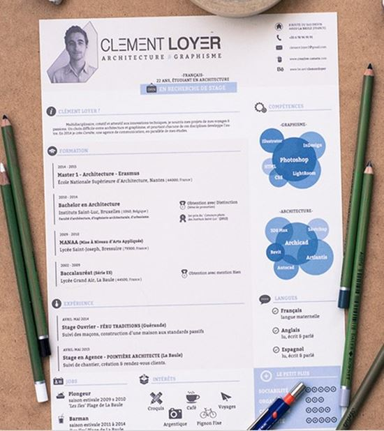 40 Best Free Resume Templates To Download - Attractive Resume Templates
