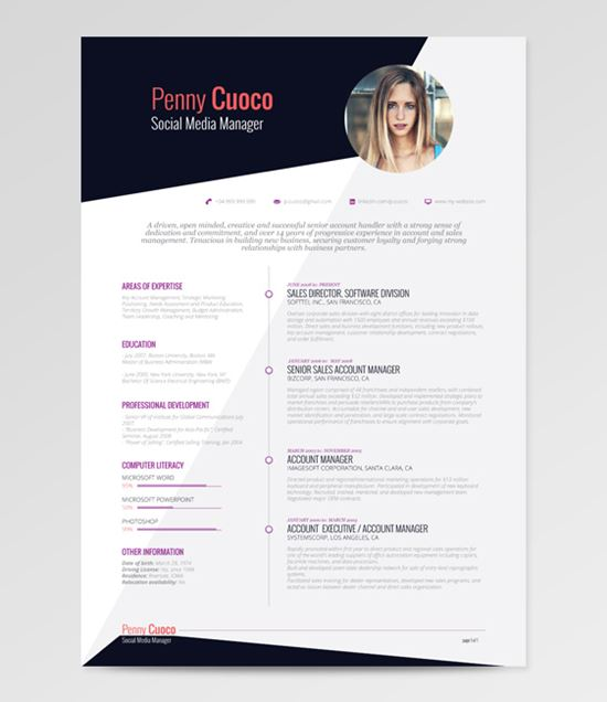 How to Design Your Best Resume - Like A Boss Girls - Best Resume Template