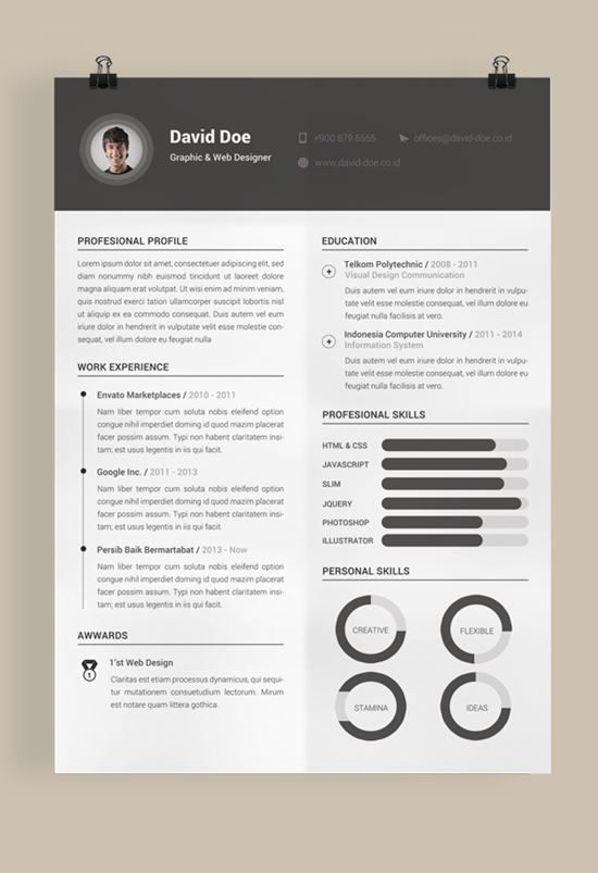 40 Best Free Resume Templates To Download - best free resume template