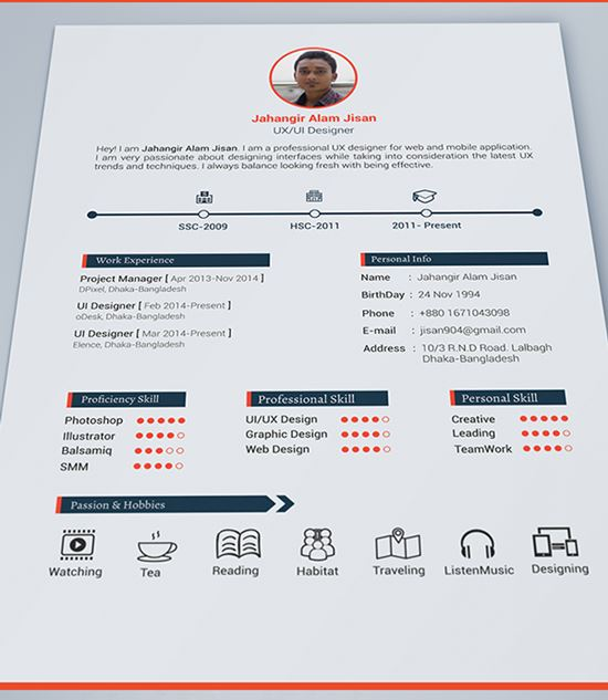 40 Best Free Resume Templates To Download - download free resume templates