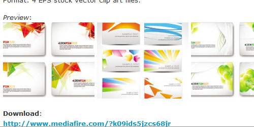 Free Business Card Templates - 40 Collections Design Press