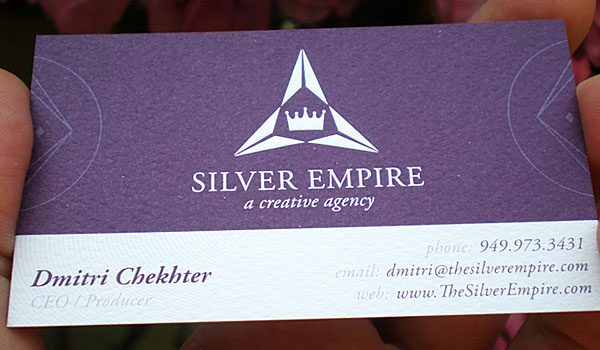 30 Purple Business Cards For Your Inspiration - SloDive