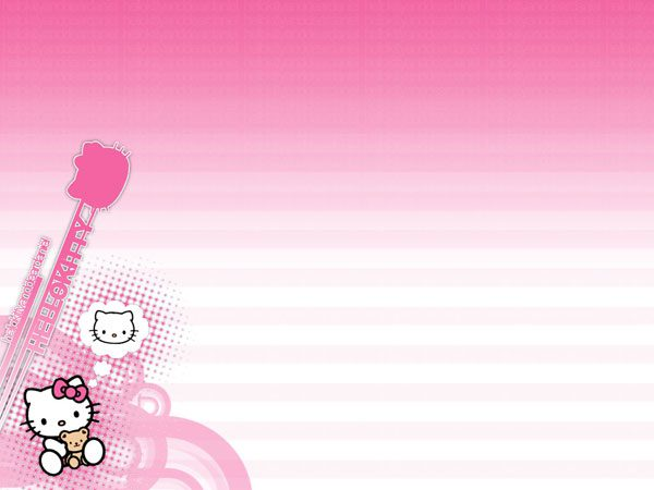 Hello Kitty Twitter Backgrounds - 23 Different Collections Design