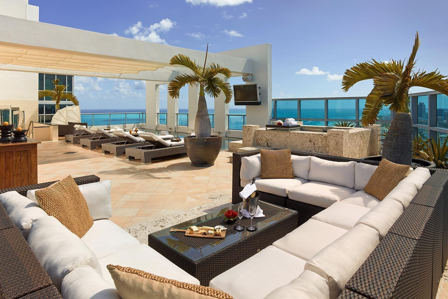 Hotel Toit Terrasse New York The Setai Miami Luxushotels Bei Designreisen