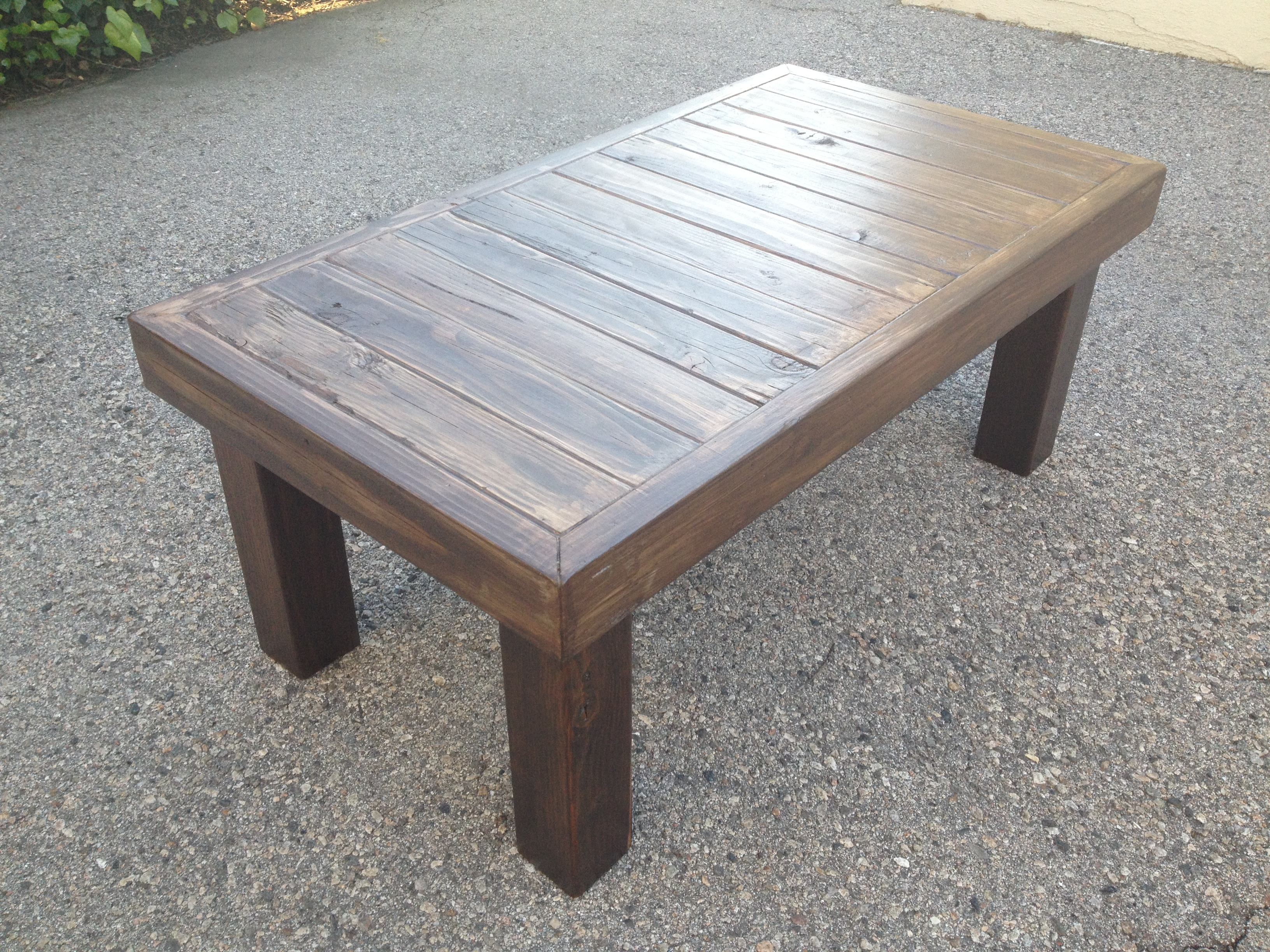 Coffee Wood Table Pdf Wooden Coffee Table Instructions Diy Free Plans