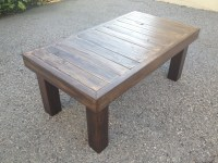 Re-Purposed Wood Coffee Table