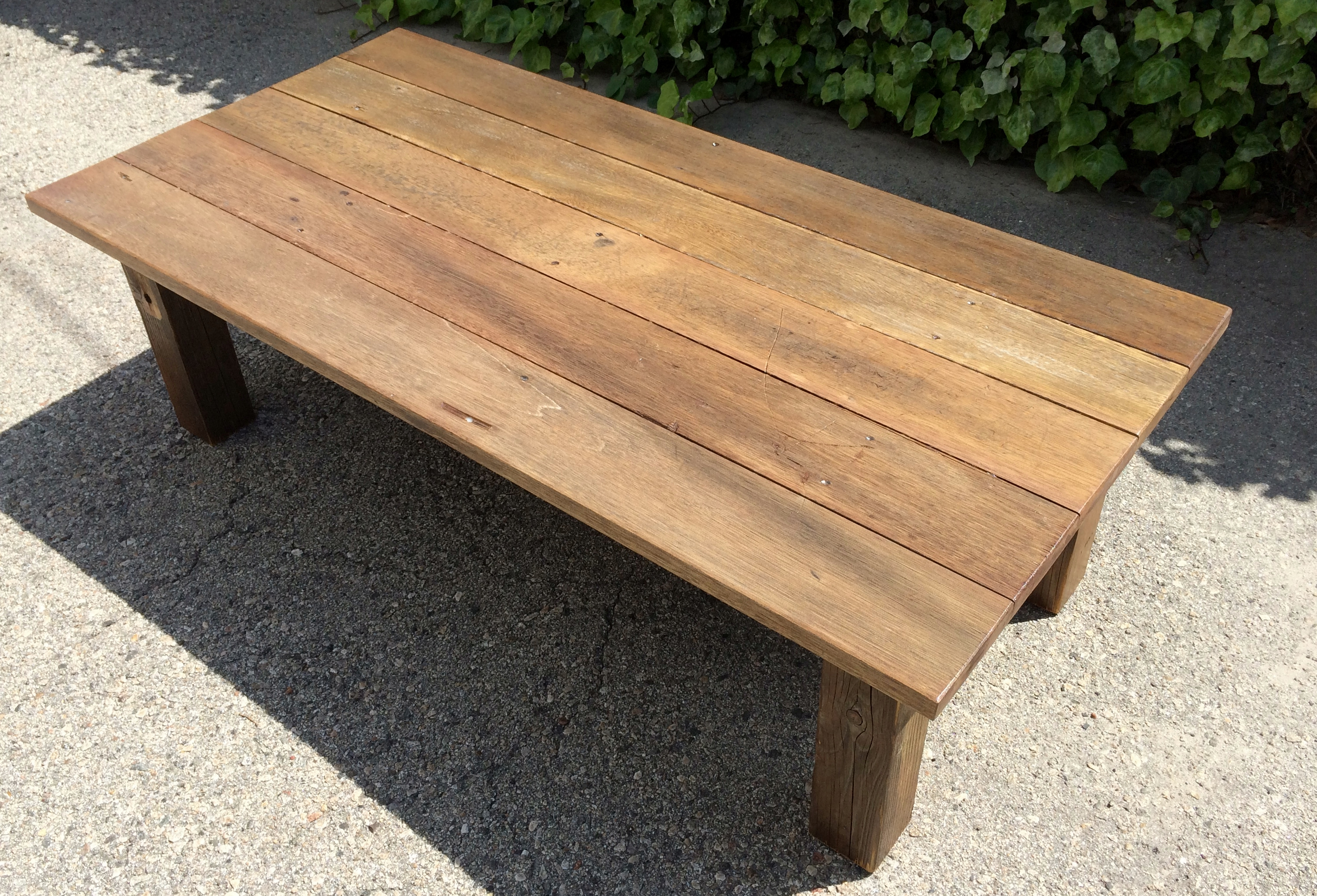 Reclaimed Wood Coffee Table 11