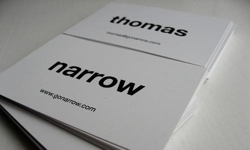 40+ Simple and Elegant Business Card Designs - designrfix - simple business