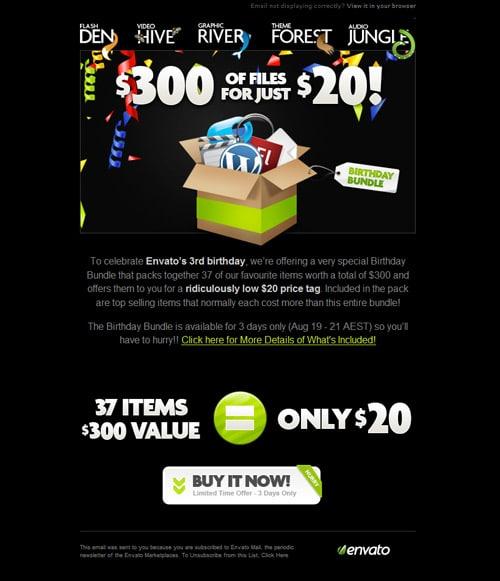 Newsletter Design 50+ Great Examples - designrfix