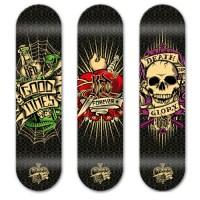 100+ Truly Stunning Skateboard Designs - designrfix.com