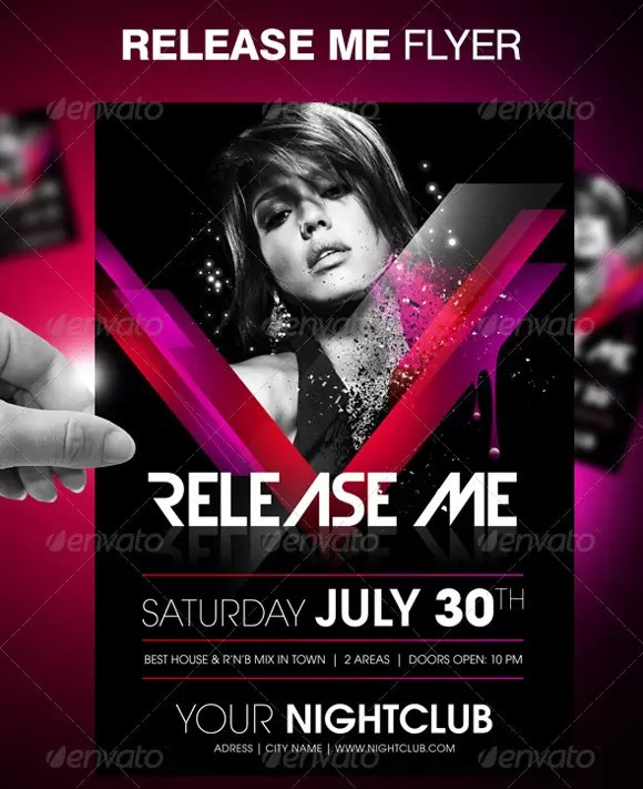 party flyer example - Pikeproductoseb