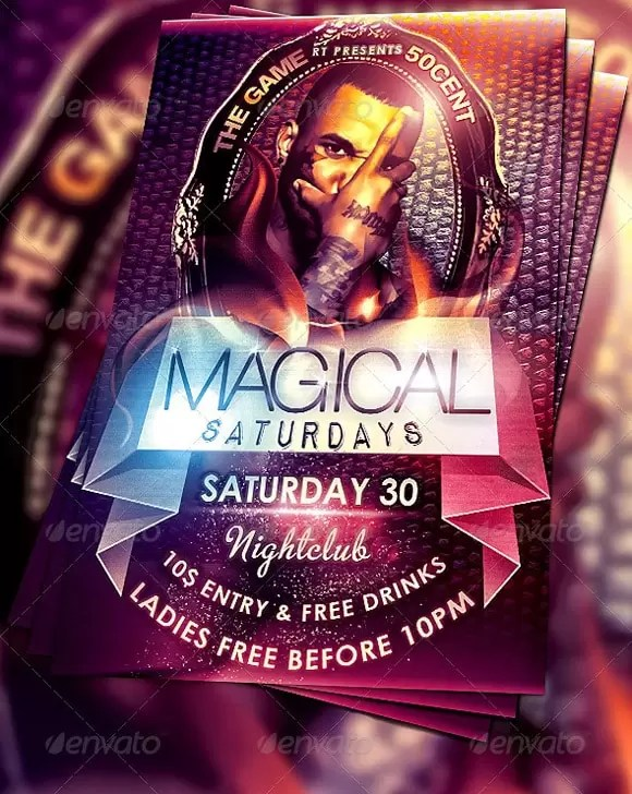 Party Flyers 40+ Awesome Template Designs - designrfix