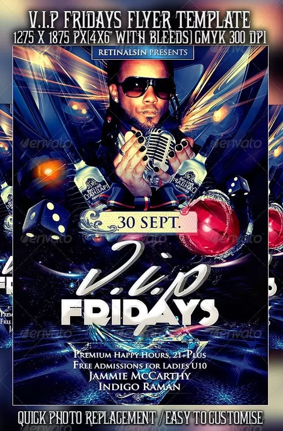Party Flyers 40+ Awesome Template Designs - designrfix - emerald flyer template