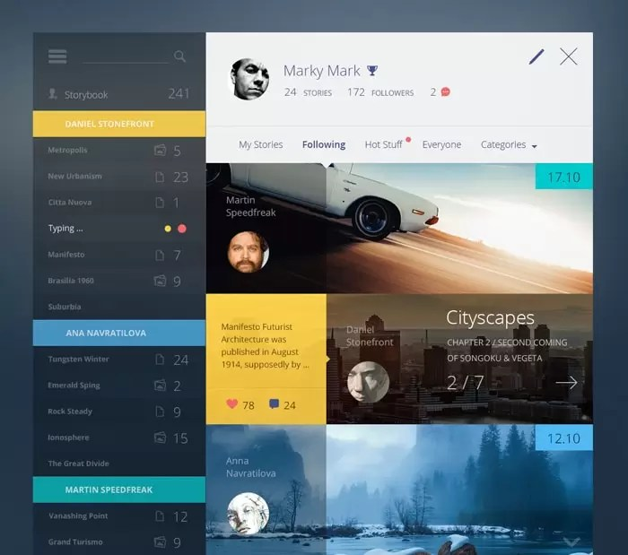 20+ Awesome Dashboard Designs That Will Inspire You - designrfix - dashboard design inspiration