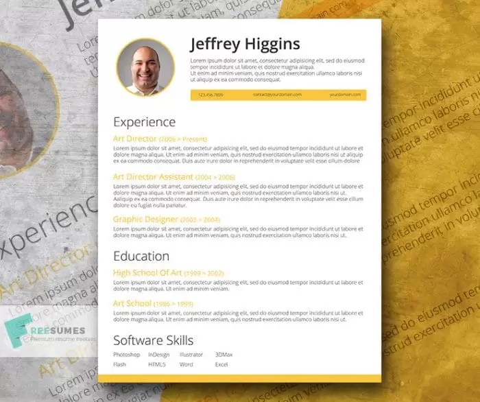 Are There Any Really Free Resume Templates | Simple Resume Format