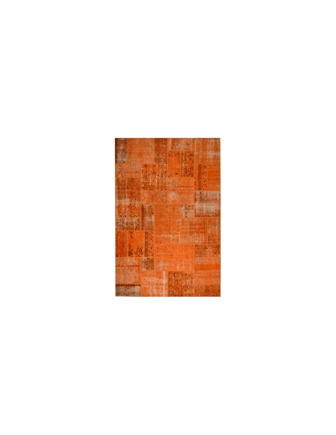 Teppiche Patchwork Teppiche Patchwork Orange Cm 200x300 Design Rug Shop