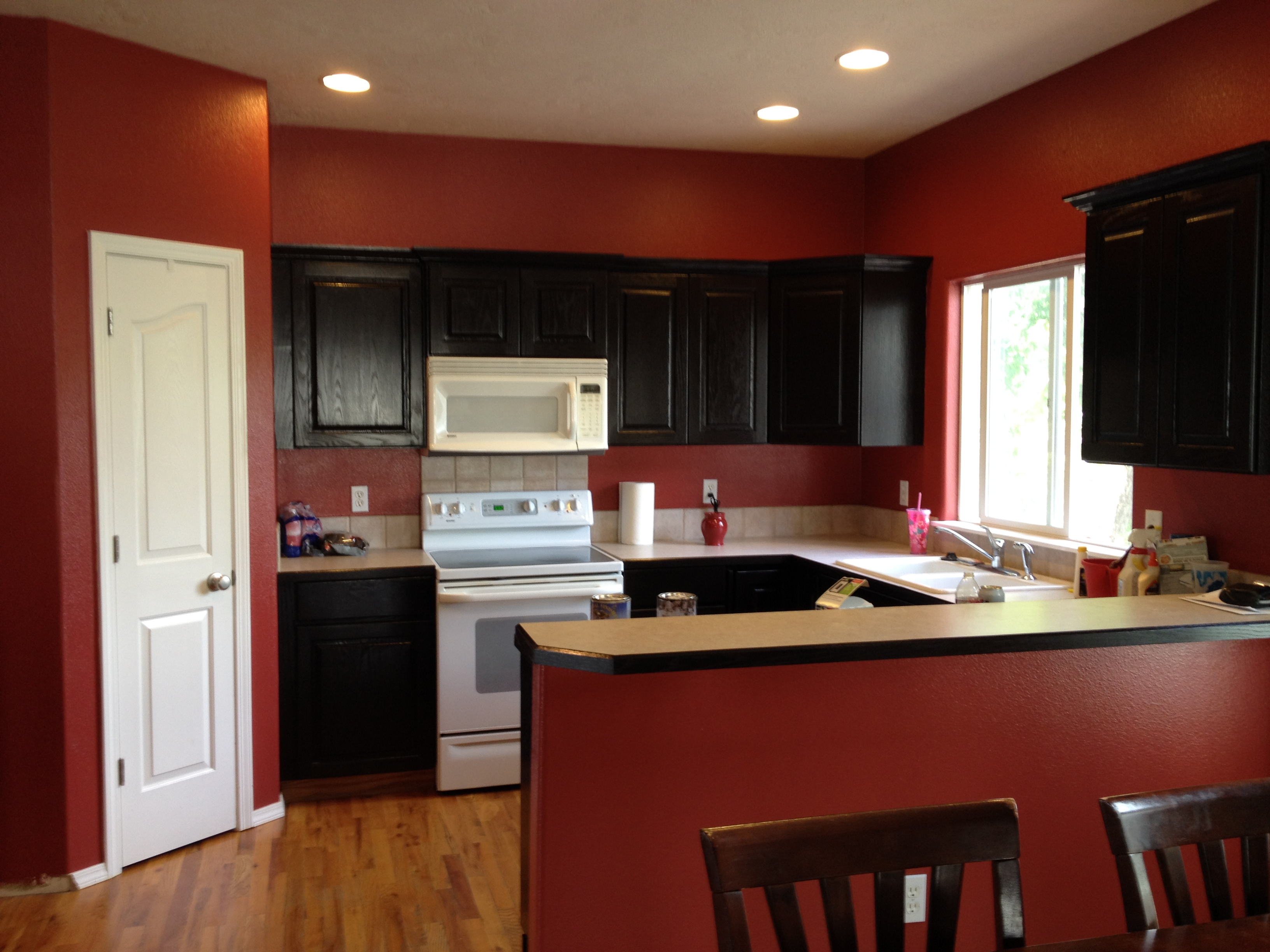 scd general finishes gel stain java kitchen cabinets lori sanders 1 20140628