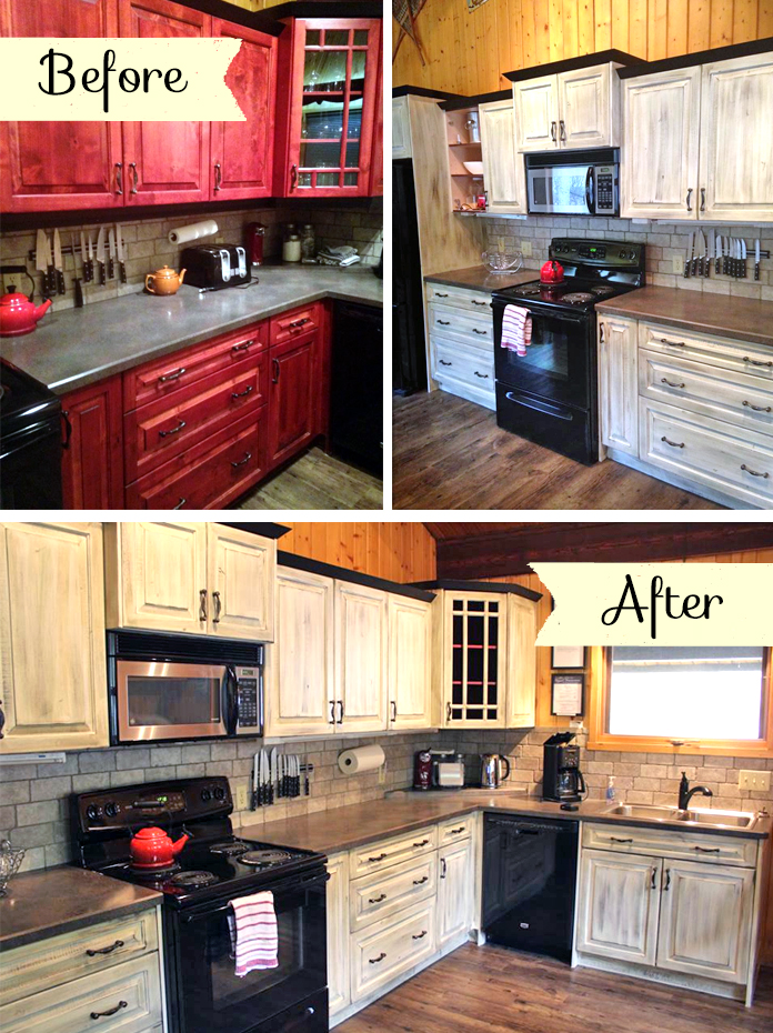 Dark Chocolate Kitchen Cabinets Kitchen With Country Charm | General Finishes Design Center