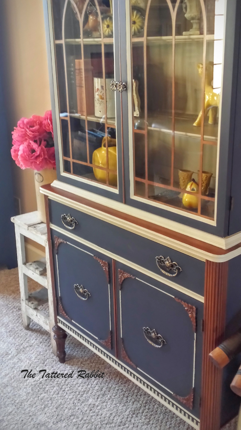 Hutch In Coastal Blue Milk Paint General Finishes Design