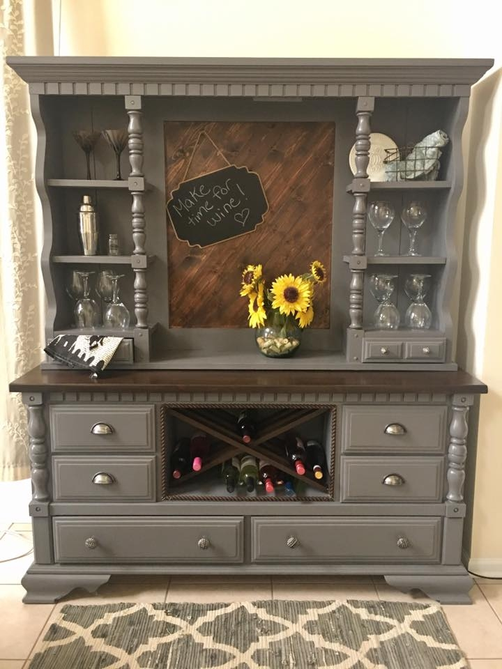 Hutch in Driftwood Milk Paint | General Finishes Design Center