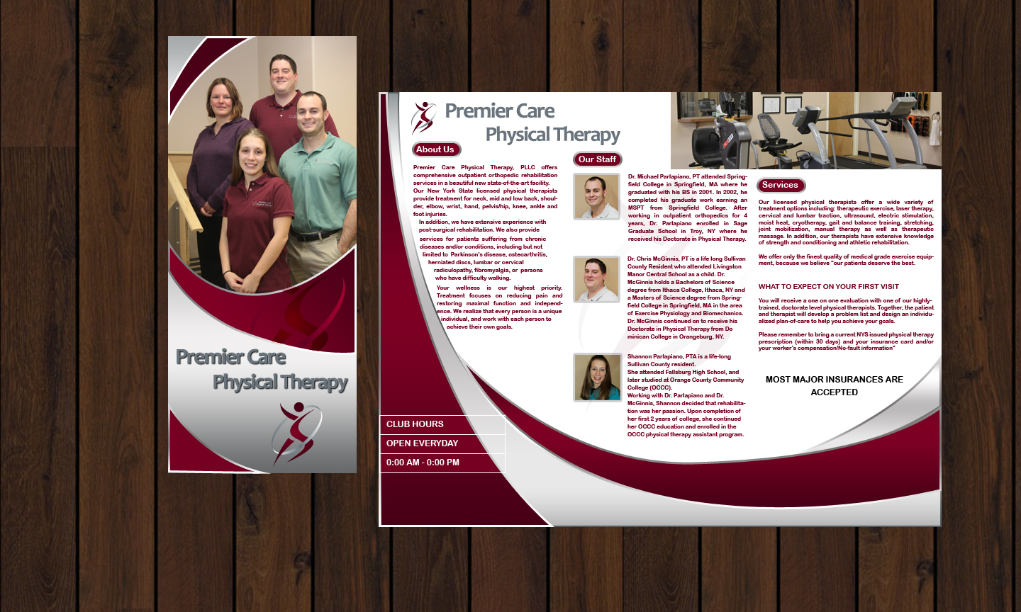 Check Out This Design For Tri Fold Brochure T Shirt