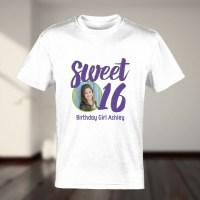 Sweet Sixteen T-Shirt | Custom T-Shirts