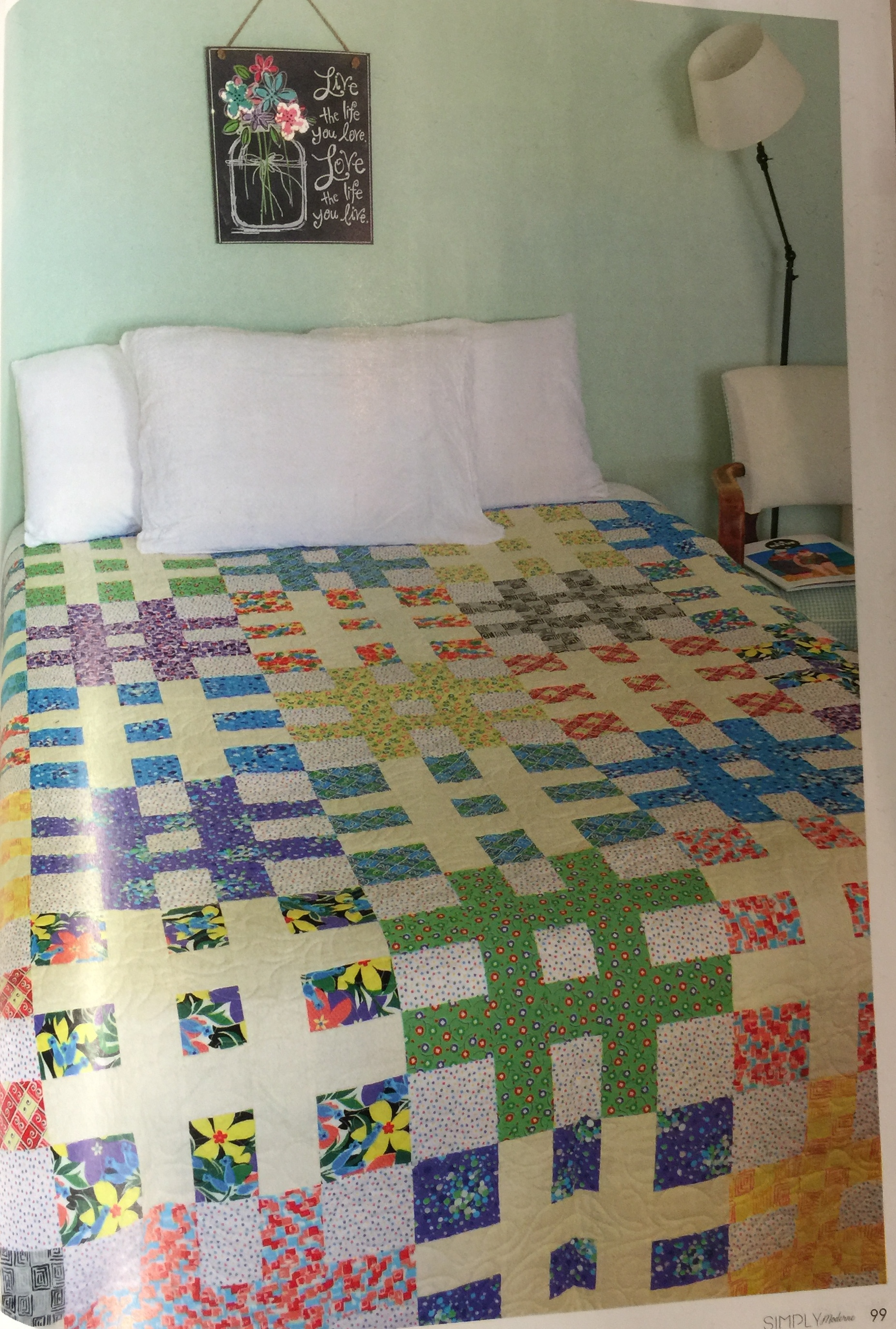 Moderne Quilts Sarah S Simply Moderne Debut The Marcus Fabrics Blog