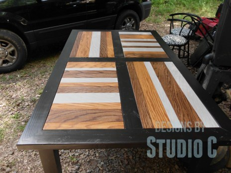 Create a Striped Panel with Stain and Plywood SANY0679