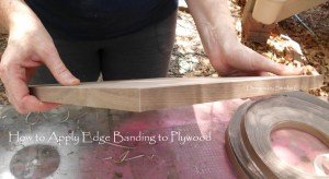How to Apply Edge Banding to Plywood 1