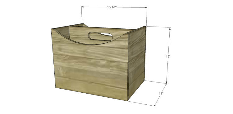 Plans to Build a Caddy Inspired by a Magazine Holder