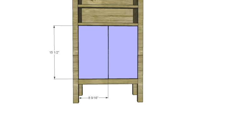 Plans to Build a Grandin Road Inspired Chloe Chest_Doors