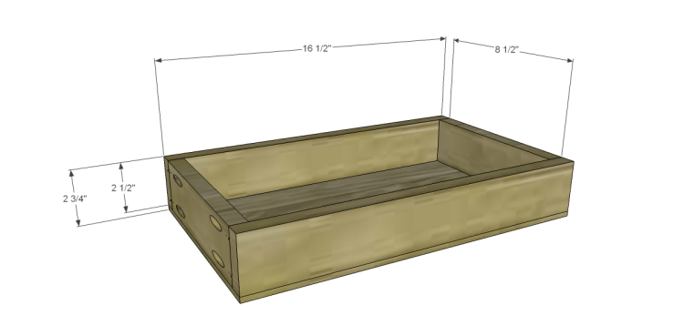 Plans to Build a Grandin Road Inspired Chloe Chest_Lg Drawer