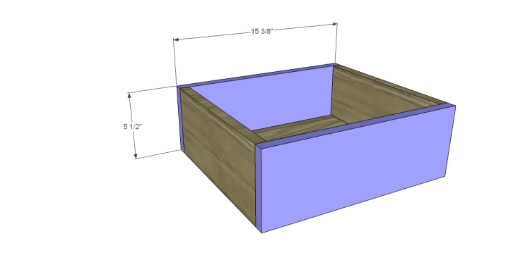 Free Plans to Build a Pier One Inspired Ashworth 5-Drawer Dresser_Sm Drawer FB